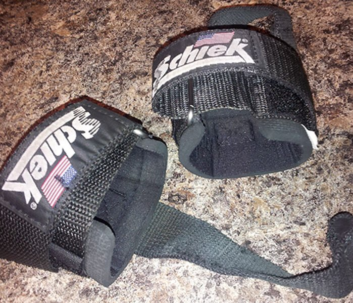 Schiek Lifting Straps with Dowel