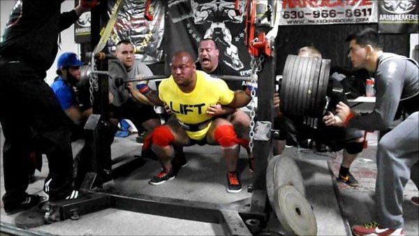 Eric Lilliebridge Huge Squat