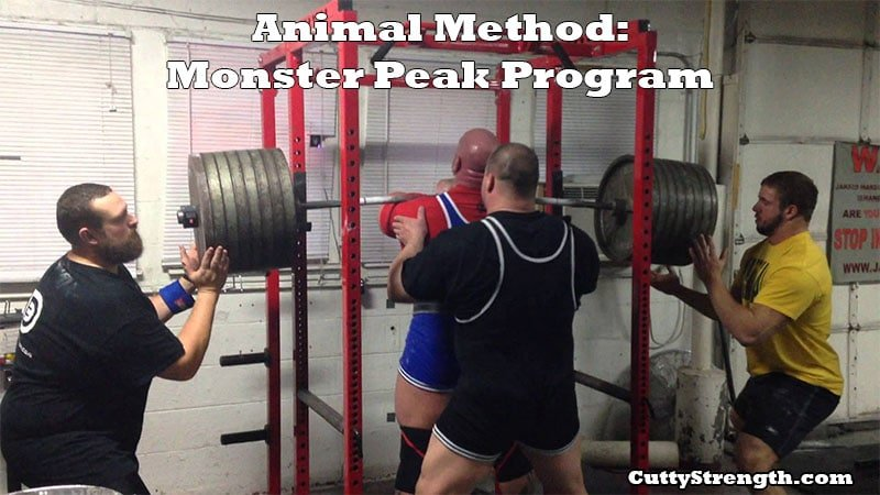 Animal Method: Monster Peak Program