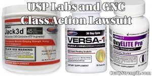USP Labs and GNC Lawsuit