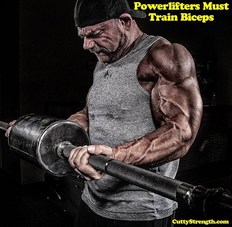 Powerlifters Must Train Biceps