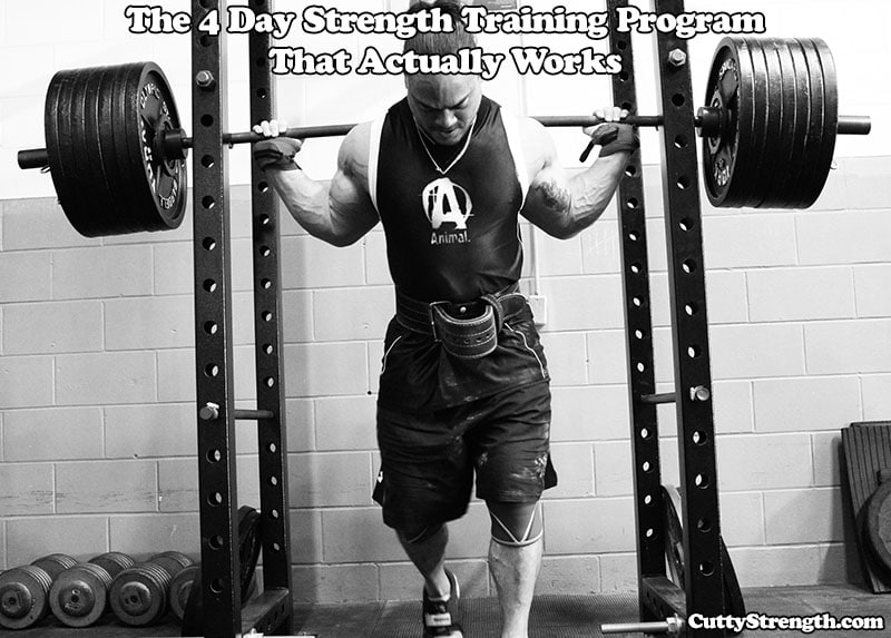 4 Day Strength Training Program