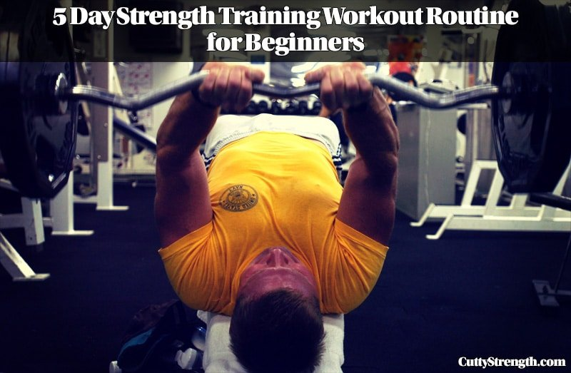 5 Day Strength Training Workout Routine for Beginners