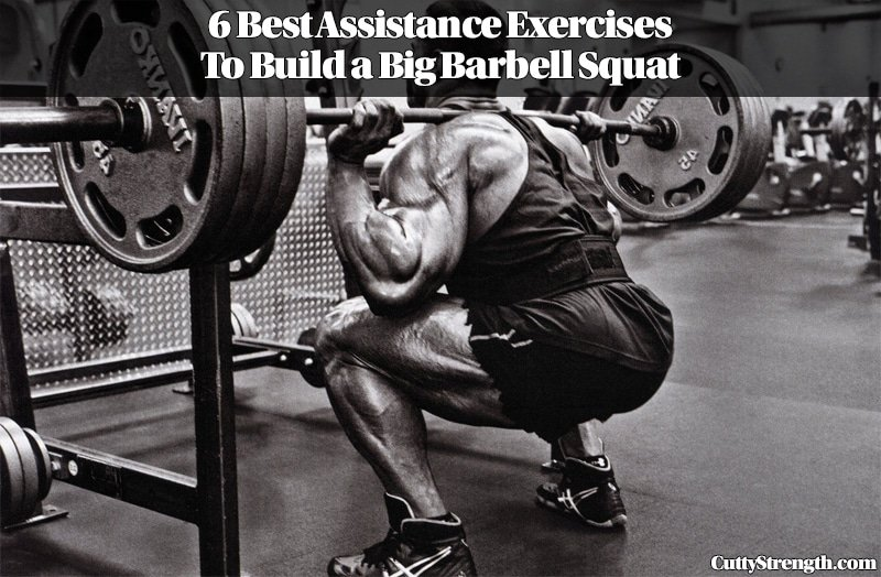 6 Best Assistance Exercises To Build a Big Barbell Squat