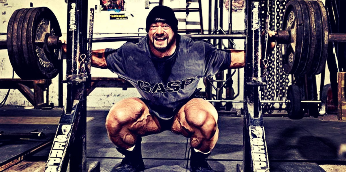 Barbell Back Squats