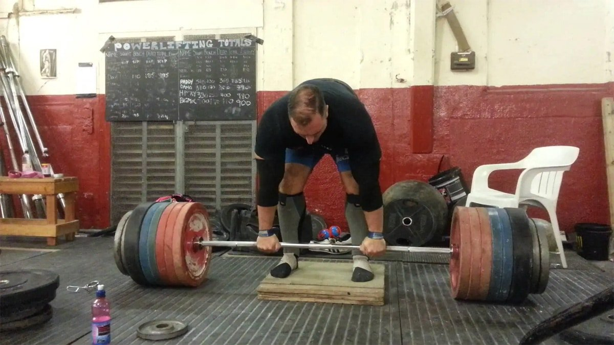 Deficit Deadlifts