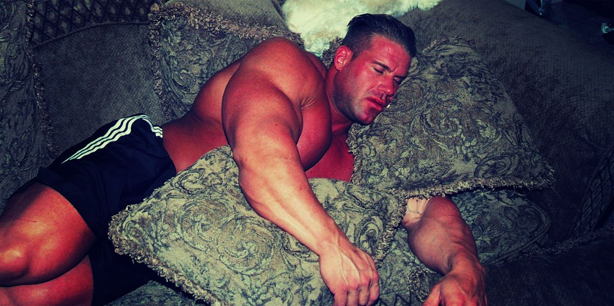 Jay Cutler Sleeping